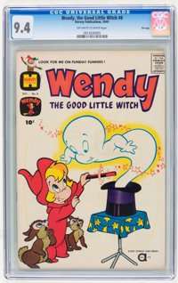 Wendy, the Good Little Witch #8 File Copy (Harvey, 1961) CGC NM 9.4 Off-white to white pages