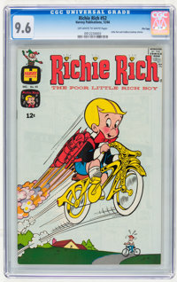 Richie Rich #52 File Copy (Harvey, 1966) CGC NM+ 9.6 Off-white to white pages