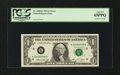 Error Notes:Major Errors, Fr. 1908-K $1 1974 Federal Reserve Note. PCGS Gem New 65PPQ.. ...