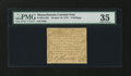 Colonial Notes:Massachusetts, Massachusetts October 16, 1778 3s PMG Choice Very Fine 35....