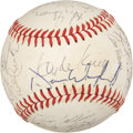 Autographs:Baseballs, 1982 New York Yankees Team Signed Baseball....