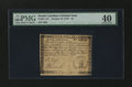 Colonial Notes:South Carolina, South Carolina October 19, 1776 $4 PMG Extremely Fine 40....