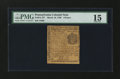Colonial Notes:Pennsylvania, Pennsylvania March 10, 1769 9d PMG Choice Fine 15....
