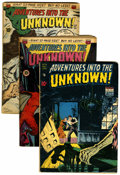 Golden Age (1938-1955):Horror, Adventures Into The Unknown Group (ACG, 1949-51) Condition: AverageVG.... (Total: 5 )