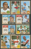 Baseball Cards:Sets, 1968 Topps Baseball High Grade Partial Set (412/598). ...