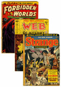 Golden Age (1938-1955):Horror, Comics - Pre-Code Golden Age Horror Comics Group (Various,1952-53).... (Total: 3 )