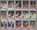 Basketball Cards:Lots, 1977-78 Topps Basketball Collection (375+). ...