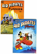 Bronze Age (1970-1979):Alternative/Underground, Air Pirates Funnies #1 and 2 Group (Hell Comics Group, 1971) Condition: Average FN.... (Total: 2 )
