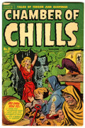 Golden Age (1938-1955):Horror, Chamber of Chills #21 (#1) (Harvey, 1951) Condition: VG/FN....