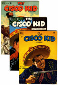 Golden Age (1938-1955):Western, Cisco Kid Comics #2-6 and 8 Group (Baily Publication, 1951-52) Condition: Average VG.... (Total: 6 )