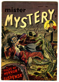Golden Age (1938-1955):Horror, Mister Mystery #1 (Aragon, 1951) Condition: VG-....