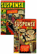 Golden Age (1938-1955):Horror, Suspense #6 and 9 Group (Atlas, 1951).... (Total: 2 )