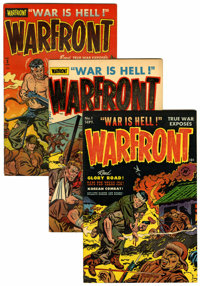 Warfront File Copies Group (Harvey, 1951-66) Condition: Average VF+.... (Total: 30 )