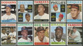 Baseball Cards:Sets, 1964 Topps Baseball Mid To High Grade Near Set (456/587) - With Complete High Number Run! ...