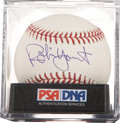 Autographs:Baseballs, Robin Yount Single Signed Baseball PSA Mint 9....