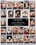 Autographs:Photos, New York Giants Signed Polo Grounds Reunion Print....