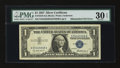 Error Notes:Mismatched Serial Numbers, Fr. 1619 $1 1957 Silver Certificate. PMG Very Fine 30 EPQ.. ...