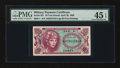 Military Payment Certificates:Series 651, Series 651 10¢ PMG Choice Extremely Fine 45 EPQ....