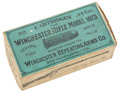 Military & Patriotic:Indian Wars, Full Unopened Box of Fifty .44-40 Cartridges for the M1873 Winchester....
