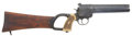 Military & Patriotic:WWI, World War I British Royal Flying Corps Flare Gun with ShoulderStock, #28432 Matching....