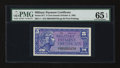 Military Payment Certificates:Series 611, Series 611 5¢ PMG Gem Uncirculated 65 EPQ....