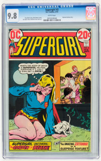Supergirl #3 (DC, 1973) CGC NM/MT 9.8 White pages