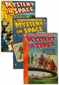 Mystery in Space Group (DC, 1953-64) Condition: Average FN.... (Total: 6 )