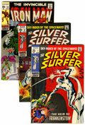 Silver Age (1956-1969):Superhero, Iron Man/Silver Surfer Group (Marvel, 1968-70).... (Total: 11 )