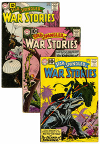 Star Spangled War Stories Group (DC, 1961-62) Condition: Average VG-.... (Total: 11 )
