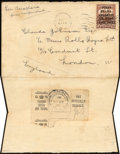 """Stamps, 1919, 3¢ Red Brown, """"Hawker"""" Air Post Overprint (C1),..."""