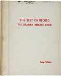 Movie/TV Memorabilia:Memorabilia, George Schlatter's The Best On Record 1968 Grammy AwardsShow Script....