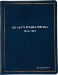 Movie/TV Memorabilia:Documents, George Schlatter's Danny Thomas Show Bound Scripts. ...