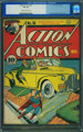 Action Comics #30 (DC, 1940) CGC VG 4.0 Cream to off-white pages