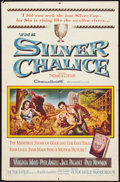 """Movie Posters:Drama, The Silver Chalice (Warner Brothers, 1955). One Sheet (27"""" X 41"""").Drama.. ..."""