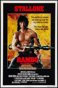 """Rambo: First Blood Part II Lot (Tri-Star, 1985). One Sheets (3) (27"""" X 41""""). Action. ... (Total: 3 Items)"""