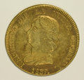 Colombia, Colombia: Republic gold 16 Pesos 1839-RS,...