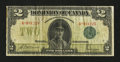 Canadian Currency: , DC-26d $2 1923.. ...