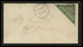 Stamps, 3p Green (11A),...