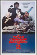 "Movie Posters:Horror, The Texas Chainsaw Massacre Part 2 Lot (Cannon, 1986). One Sheets(2) (27"" X 41""). Horror.. ... (Total: 2 Items)"