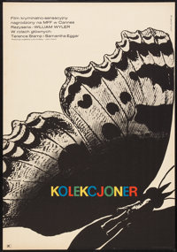 "The Collector (CWF, 1968). Polish One Sheet (23"" X 33""). Thriller"