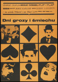 "Movie Posters:Documentary, Days of Thrills and Laughter (CWF, 1961). Polish One Sheet (22.5"" X 32.5""). Documentary.. ..."