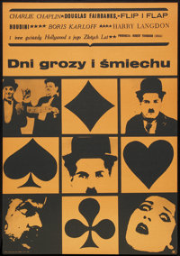 """Days of Thrills and Laughter (CWF, 1961). Polish One Sheet (22.5"""" X 32.5""""). Documentary"""