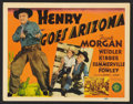 "Movie Posters:Comedy, Henry Goes Arizona Lot (MGM, 1939). Title Lobby Cards (2) (11"" X 14""). Comedy.. ... (Total: 2 Items)"