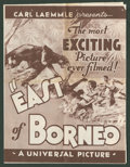 "Movie Posters:Adventure, East of Borneo (Universal, 1931). Herald (11"" X 16.5"", Folded Out).Adventure.. ..."