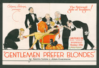 """Gentlemen Prefer Blondes Lot (Orpheum Theater, 1926). Heralds (2) (6"""" X 9,"""" Folded Out). Comedy. ... (Total: 2..."""