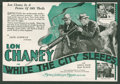 "Movie Posters:Crime, While the City Sleeps (MGM, 1928). Herald (6"" X 8.75,"" Folded Out).Crime.. ..."