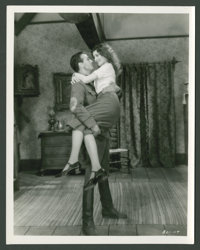 """Gary Cooper and June Collyer in """"A Man from Wyoming"""" (Paramount, 1930). Still (8"""" X 10""""). Romance..."""