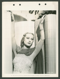 """Dolores Costello Barrymore in """"Yours for the Asking"""" (Paramount, 1936). Keybook Still (8"""" X 11""""). Co..."""