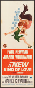"""Movie Posters:Comedy, A New Kind of Love (Paramount, 1963). Insert (14"""" X 36""""). Comedy....."""