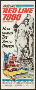 "Movie Posters:Sports, Red Line 7000 (Paramount, 1965). Insert (14"" X 36""). Sports.. ..."